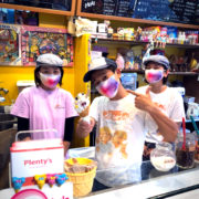 茅ヶ崎の大人気アイスクリーム屋さん Plentys様でもアドマスクCo-que採用いただいてます!